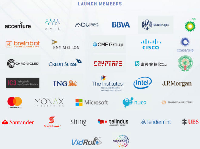 The Enterprise Ethereum Alliance