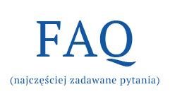 faq - najczęściej zadawane pytania