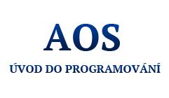 1. AOS – úvod do programování