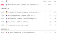Ekonomický kalendář online & návod, jak ho používat