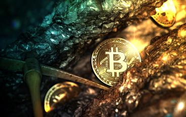 bitcoin těžba