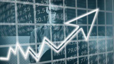 růst akcií